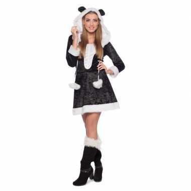 Panda dieren verkleedkleding voor dames