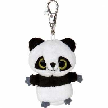 Panda sleutelhanger 7,5 cm