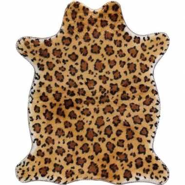 Panter print dierenvelletje speelkleed/speelgoed kleed 90 cm