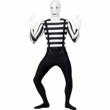 Pantomime second skin kostuum