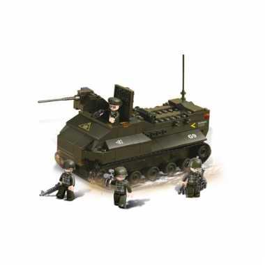 Pantservoertuig bouw blokjes