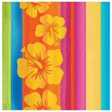 Papieren hawaii servetten 32 stuks