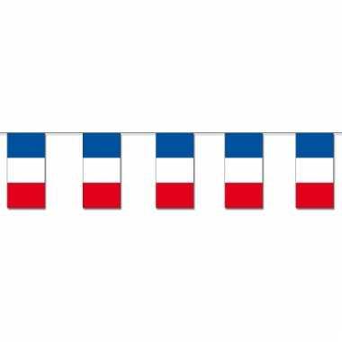 Papieren vlaggenlijnen frankrijk