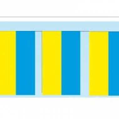 Papieren vlaggenlijnen oekraine