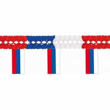 Papieren vlaggenlijnen rusland