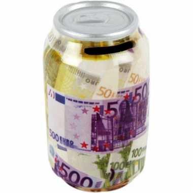 Papiergeld euro spaarpotje