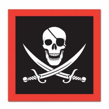 Papiernen piraten servetten