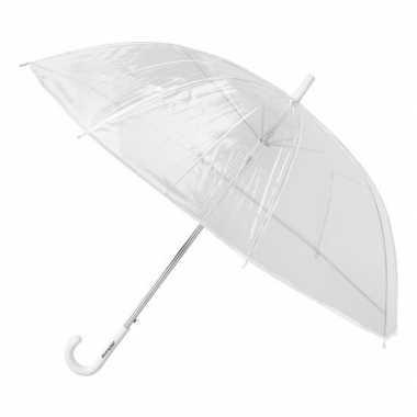Paraplu van pvc transparant