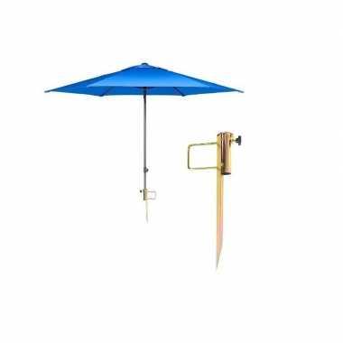 Parasol grondanker / pen 35 mm