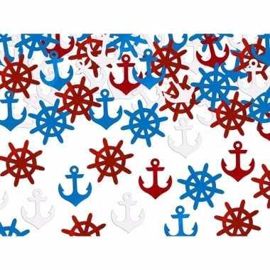 Party confetti schepen thema feestartikelen 7 gram
