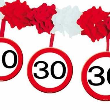 Party slinger lijn 30 jaar