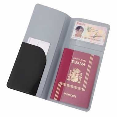 Paspoorthouder zwart 22 cm
