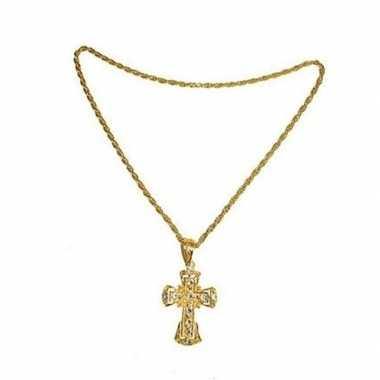 Paus ketting in het goud