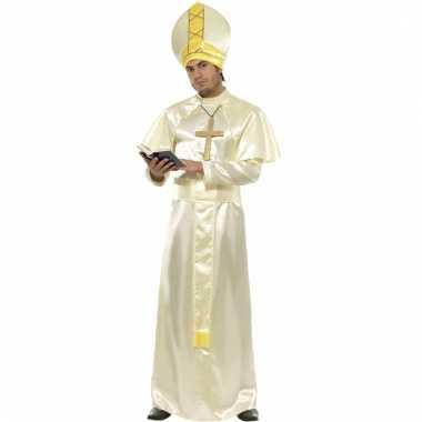 Paus kostuum compleet