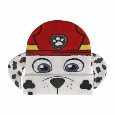 Paw patrol marshall hondje kindermuts