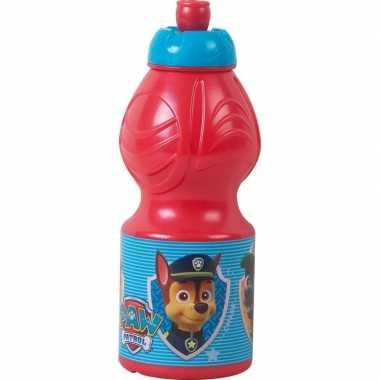 Paw patrol pop-up reisbeker rood 350 ml