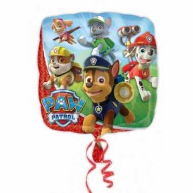 Paw patrol thema folie ballon