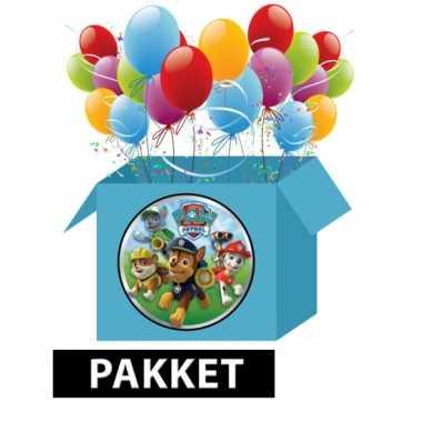 Paw patrol themafeestje pakket
