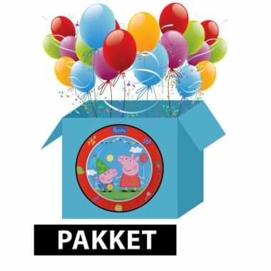 Peppa big kinderfeest pakket