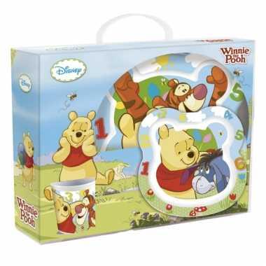 Peuter servies winnie de pooh