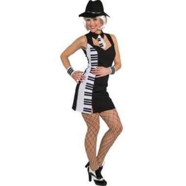 Piano verkleedkostuum voor dames