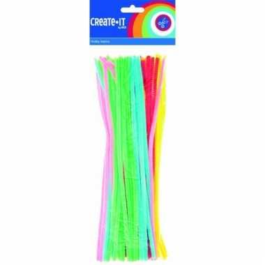 Pijpenragers fluorescerend 30 cm 50 st