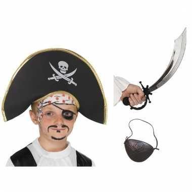 Piraat verkleedsetje voor kids
