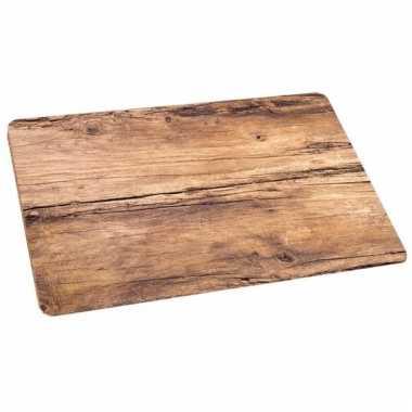 Placemats eikenhout bedrukt 44 x 28 5 cm