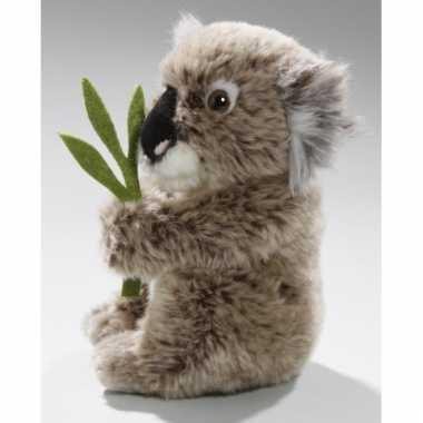 Pluche grijze koala knuffel 37 cm