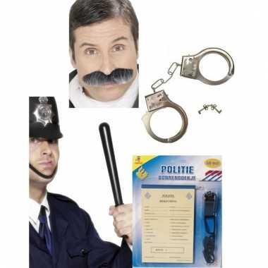 Politie verkleedsetje voor dames en heren