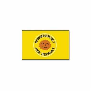 Polyester vlag kernenergie nee bedankt