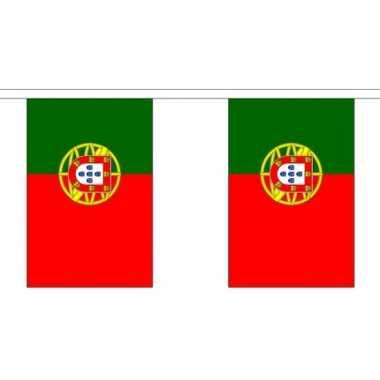 Polyster vlaggenlijn portugal 3 m