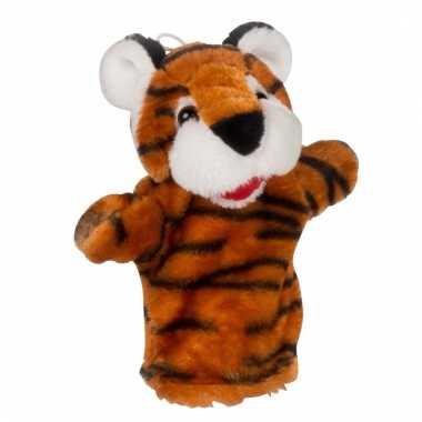 Poppentheater handpop tijger 23 cm