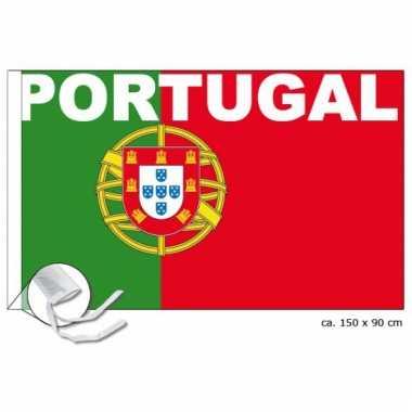Portugal fan vlag