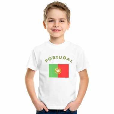Portugees vlaggen t-shirts voor kinderen
