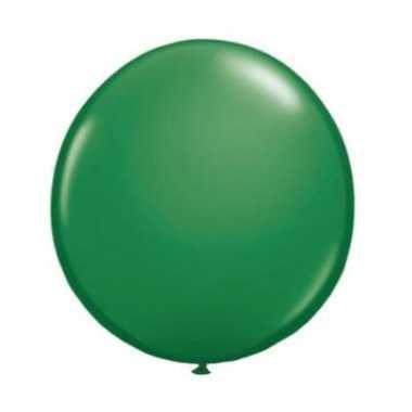 Qualatex groene ballon 90 cm