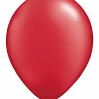 Qualatex ruby rood ballonnen
