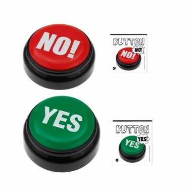Quiz buttons yes en no