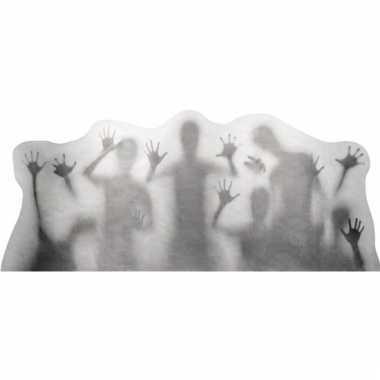 Raamversiering horror silhouetten 35 x 78 cm