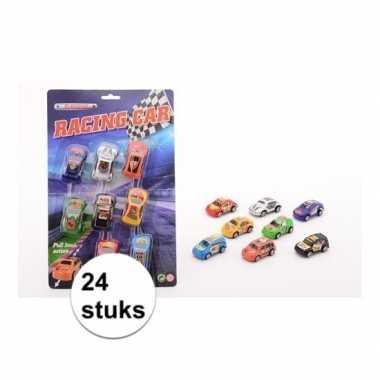 Race autootjes 24 stuks