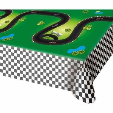 Race/formule 1 kinderfeestje tafelkleed 180 cm