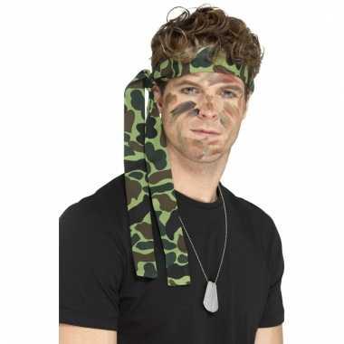 Rambo hoofdband camouflage