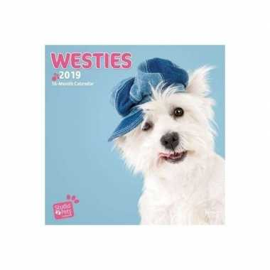 Rashonden kalender west highland terriers 2019
