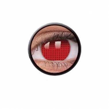Red screen funlenzen