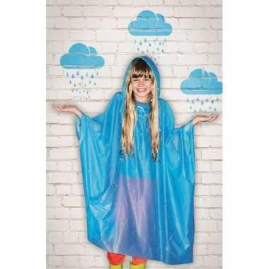 Regen poncho voor kids herbruikbaar
