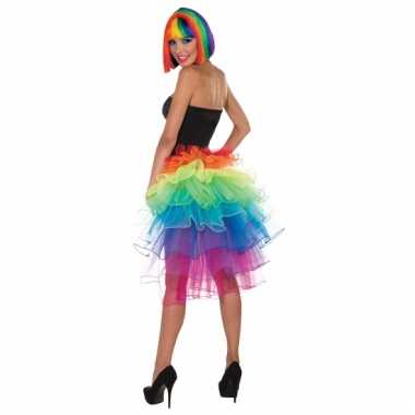 Regenboog rokje voor vrouwen