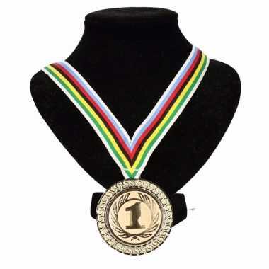 Regenboogtrui kleuren nr. 1 halslint wereldkampioen