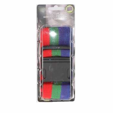 Reiskoffer riem 3 kleuren extra sterk