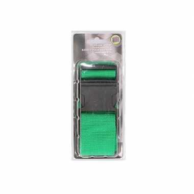 Reiskoffer riem groen extra sterk
