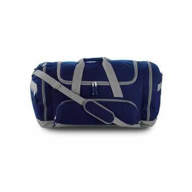 Reistas blauw grijs 69 cm